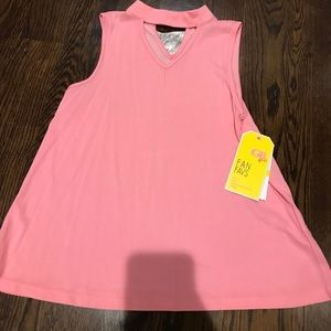 pink gb girls sleavless blouse kids